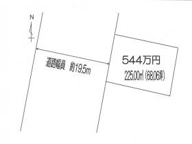 富田馬場様区画図
